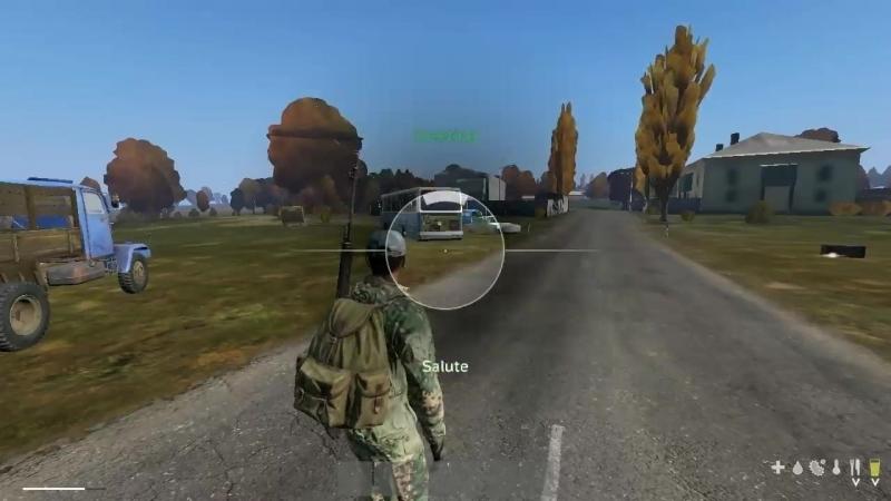 Menu like GTA V :-D Beta DayZ 0.63