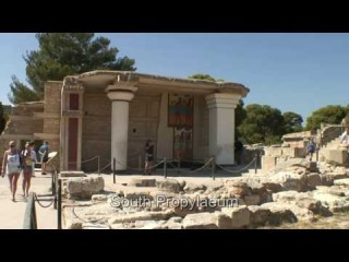 Knossos Crete - The palace of Knossos - ancient