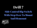 БЖЖДрилы с маникеном10 BJJ Solo Drills W⁄ Heavy Bag Top Pressure And Movement