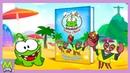 Детский уголок Kids'Corner Ам Ням Футболист Игры на Пляже с Крабами Мульт Книжка