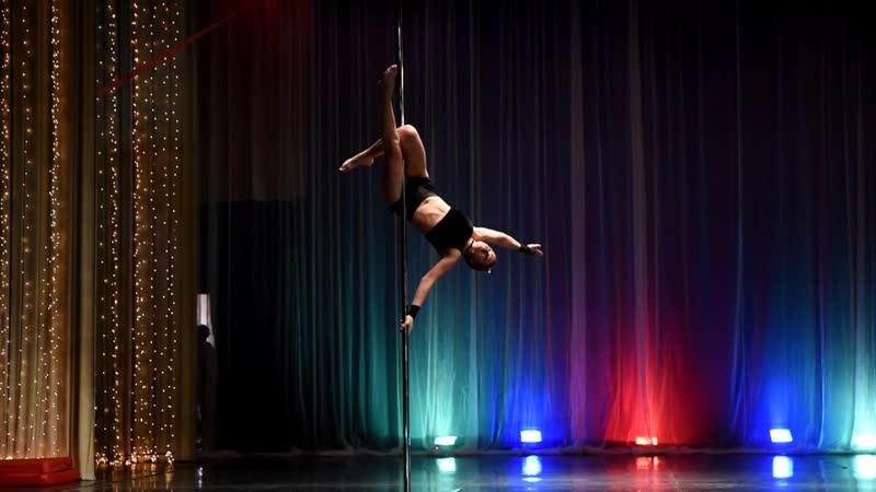 5.1 Pole dance acrobatic любители Торхова Елена