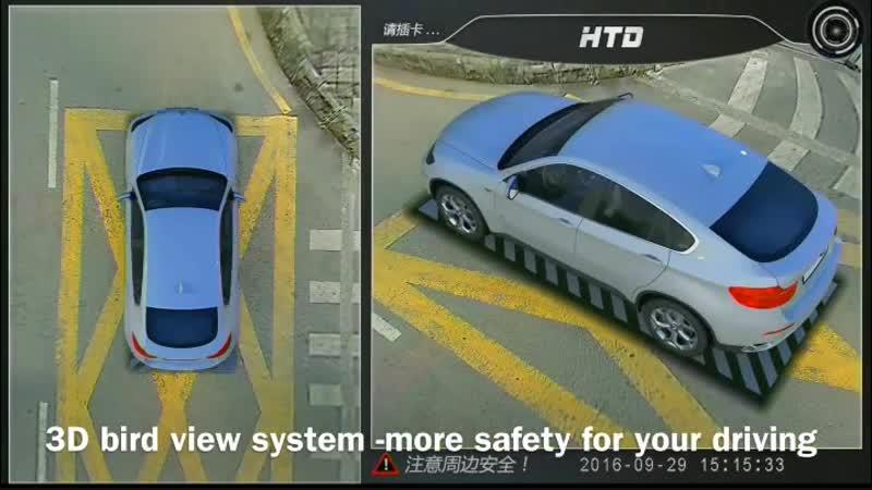 Система интелектуального моделирования ситуации на дороге. 3D парктроник.