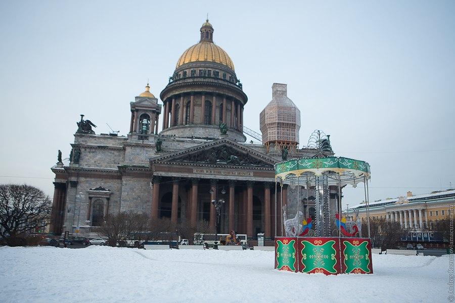 Новогодняя городская елка Санкт-Петербург
