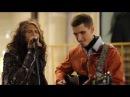 Impresionante Steven Tyler de Aerosmith sorprende a un músico callejero