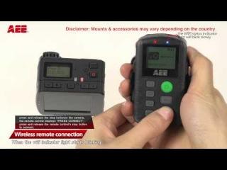 Обзор пульта АЕЕ - как подключить камеру к пульту #aees70 #экшнкамера