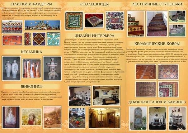 Изготовление И Роспись Столешницы Из Майолики