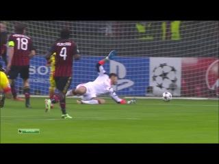 Милан - Барселона 1-1 (22 октября 2013 г, Лига Чемпионов УЕФА)