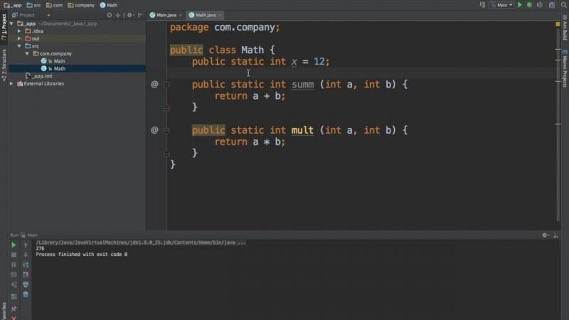 Уроки Java для начинающих _ @21 - Модификаторы static и final_HD.mp4
