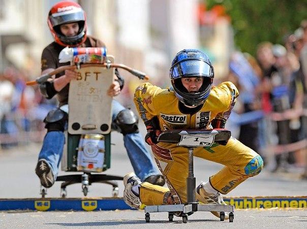 В Мурманске в День молодежи устроят гонки на креслах