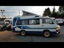 FOR SALE: Toyota Hiace Van Camper 1987, LH66V, 4x4 diesel 2L.