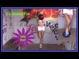 Looner Hannah zerstampft gnadenlos zwei unschuldige Luftballons - stomp2pop