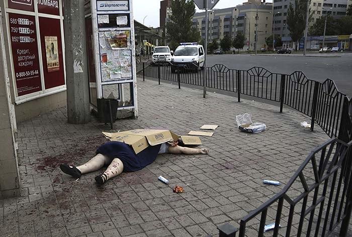 Пять лет назад в Донецк пришла война (ВИДЕО, ФОТО 18+)