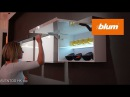 Blum at Interzum 2017 - AVENTOS HK top