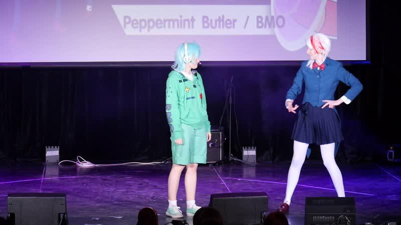 2.5. Lunar Horror и Frin Dust - Adventure Time - Peppermint Butler и BMO