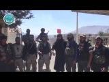 جانب من عملية تحرير معبر القنيطرة الحدودي &#16