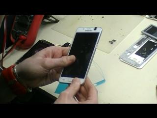 Замена дисплейного модуля Samsung
