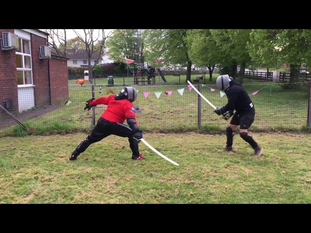Katana vs Sabre Burak vs Nick