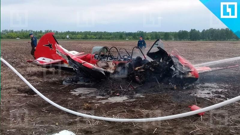 Самолёт Як 52 рухнул в Алтайском крае