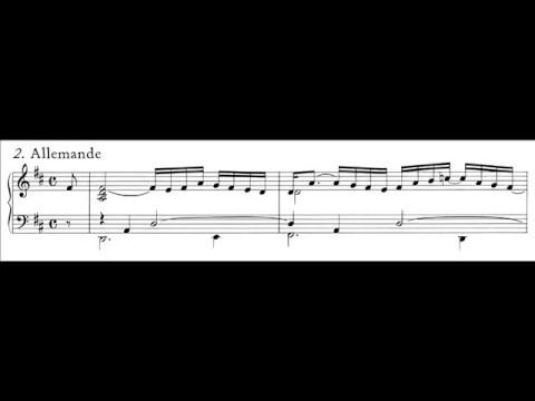 Bach, Partita BWV 828 II Allemanda (score) - 2
