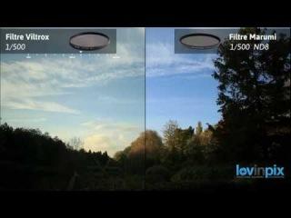 Тест фильтров Marumi ND8 light control и Viltrox Vari-ND ND2-ND400
