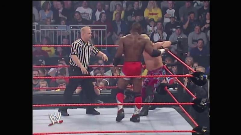 |WM| Крис Джерико против Шелтона Бенджамина - Беклэш 2005