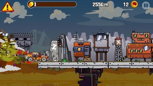 Скачать Zombie Road Trip для android