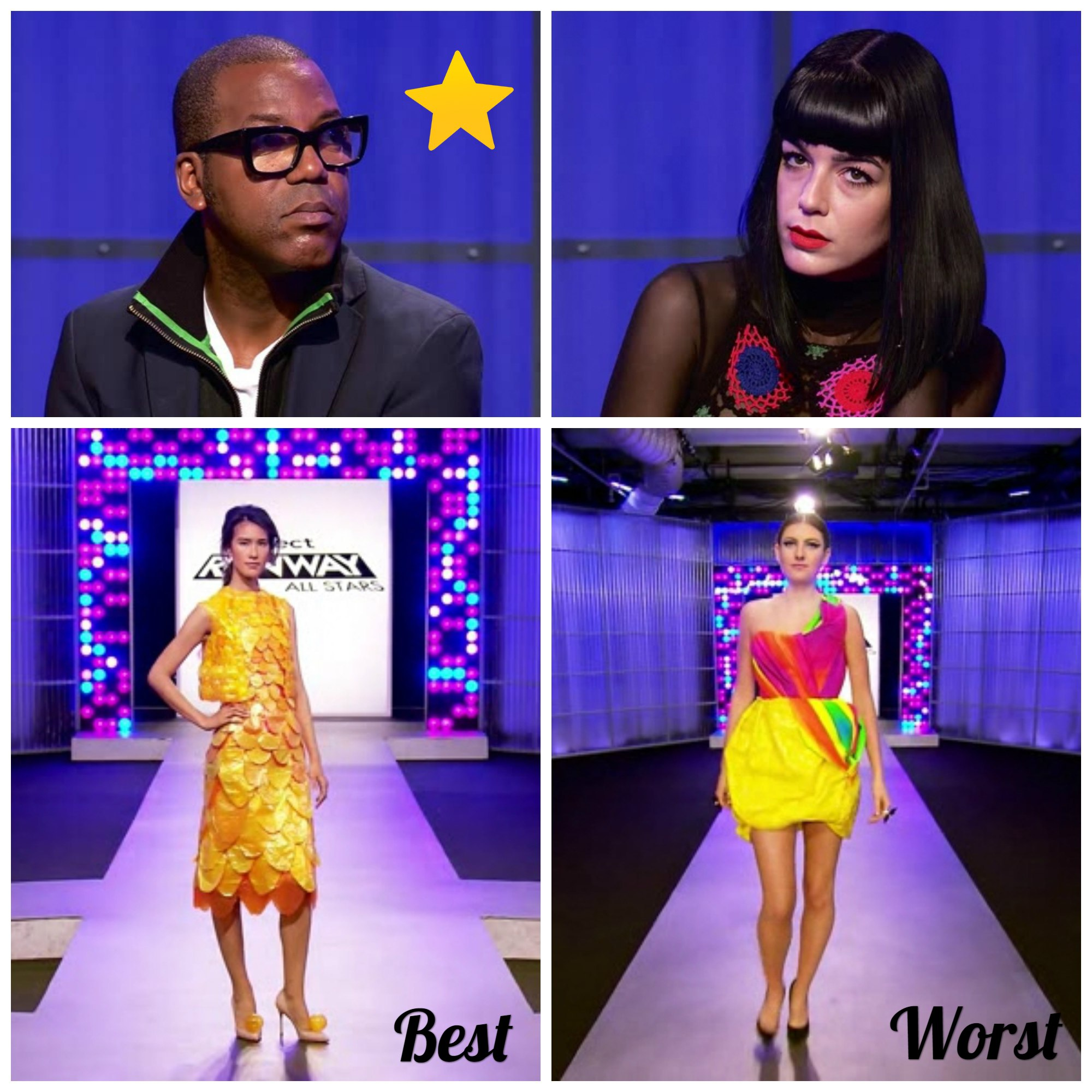 Project Runway All Stars 2018 episode 4 s06e04 best and worst designs, who was eliminated, winner