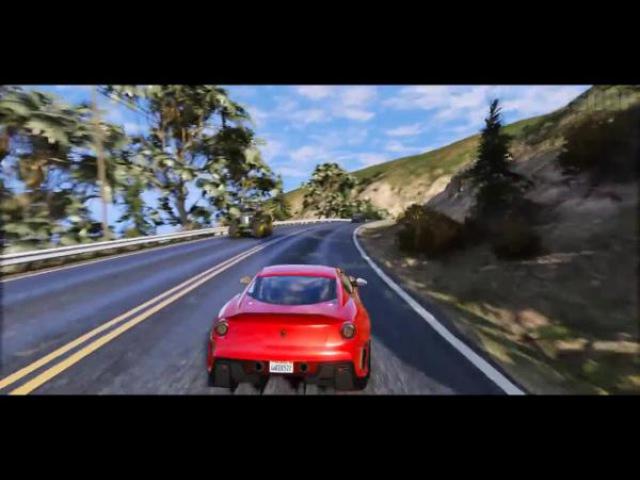 GTA 6 Графика - Ferrari 599XX GTO MVGA - Геймплей! 2017 Реалистичная графика MOD 60FPS
