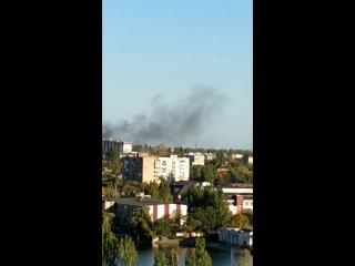 Что-то горит Донецк 9 10 2018