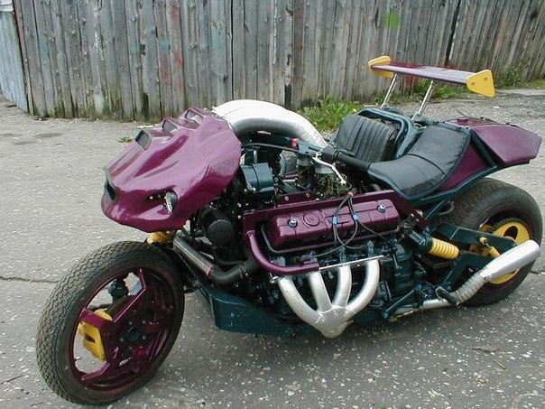 Мотоцикл война, своими руками