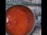 томатный суп с клёцками🍅