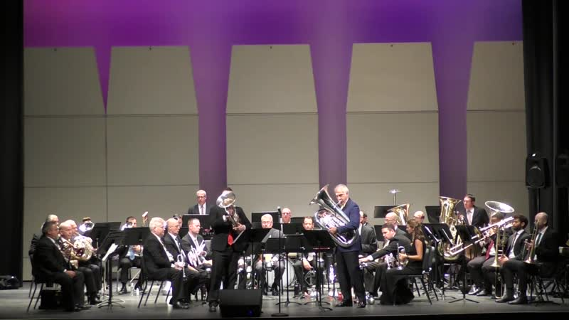 """TUBA and EUPHONIUM DUET - _""""If I Were a Rich Man_"""" from Fiddler on the Roof."""