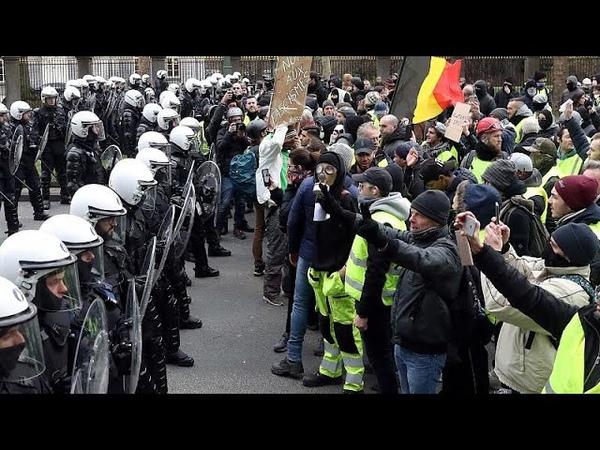 Les gilets jaunes belges eux aussi dans la rue