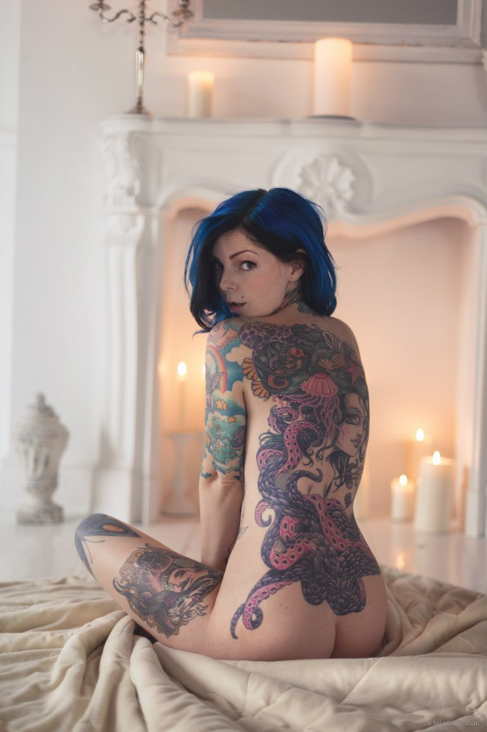 full body tattoo porn women