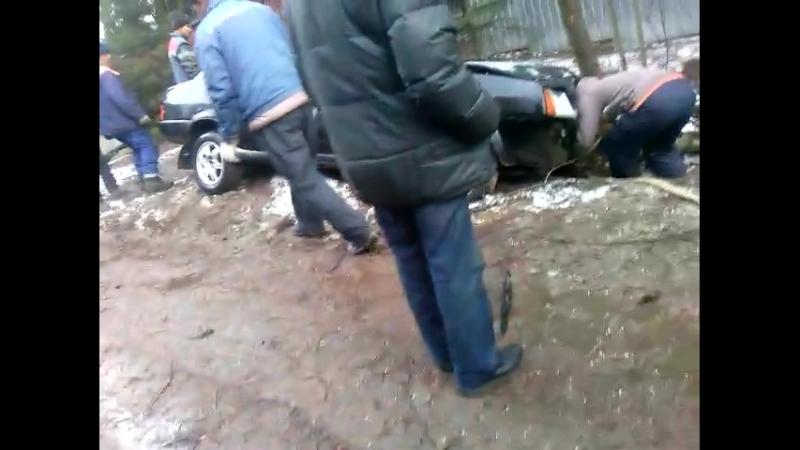 авария за керро