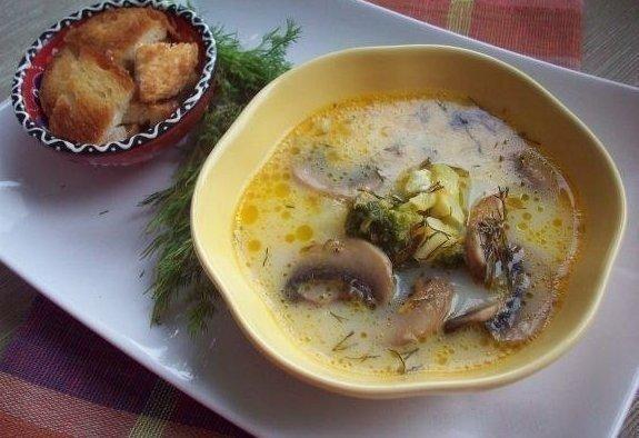 10 рецептов СЫРНЫХ СУПОВ 1. Сырный суп (с