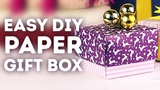 Easy to make DIY gift box for fabulous gifts l 5-MINUTE CRAFTS