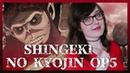 Shiro Neko Doukei to Shikabane no Michi Shingeki no Kyojin 3 Opening 2 Japanese Cover