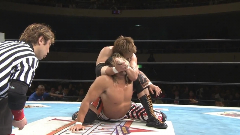 Hiroshi Tanahashi(с) vs. Satoshi Kojima Match for the IWGP Heavyweight Title (The New Beginning)