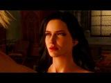 The Witcher 3 Wild Hunt - Kaer Morhen Yennefer and Geralt Romance