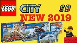 ALL NEW LEGO CITY 2019 Sets Winter wave UPDATE