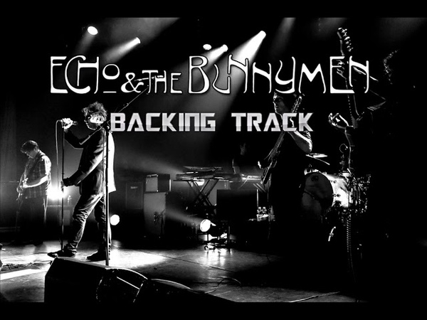 Echo And The Bunnymen Silver BACKING TRACK