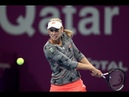 Elise Mertens   2019 Qatar Total Open Semifinals   Shot of the Day