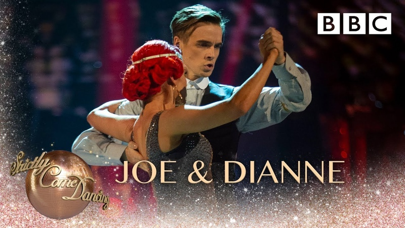 Joe Sugg Dianne Buswell Argentine Tango to 'Red Right Hand' by Nick Cave - BBC Strictly 2018