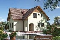 проект кирпичного дома 10х10 - Нужные схемы и описания для всех.