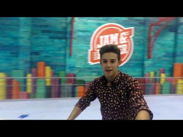 Soy Luna 3 - Dietro le quinte | A lezioni di pattinaggio con Ruggero