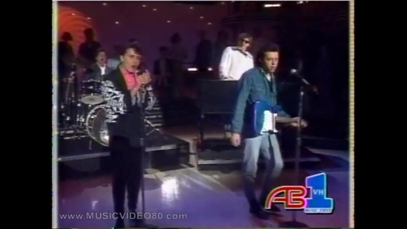 Tears For Fears - Everybody Wants To Rule The World (American Bandstand 1985)