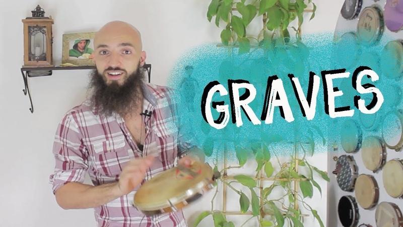 AULA DE PANDEIRO - Graves e Frases