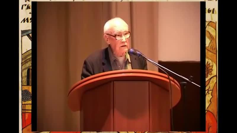 Черняев К.Н. (разведчик ВОВ, 95 лет) обличает
