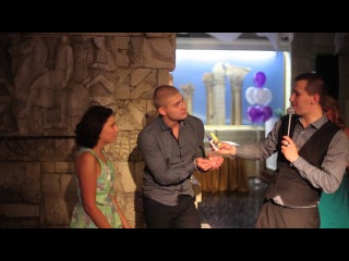 ведущий на свадьбу (тамада) Антон Левцов - свадьба в ресторане Бульвар (4)
